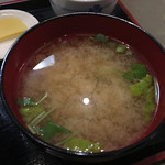 秋葉原旨い魚と焼酎.地酒 美味研鑽 TETSU - 味噌汁