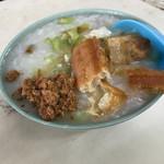 台湾風粥専門店 阿里 - 鶏肉のお粥 なんと!!¥230