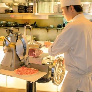 国産肉を使用した自家製ハム