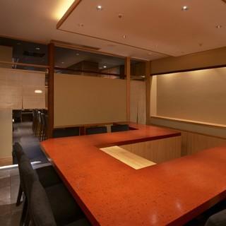 接待・お祝の席・各種会食に【完全個室】