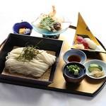 湯沢ロイヤルホテル - 【夏季定和食おすすめ】稲庭つけめんセット(松) 1,200円(税抜)
