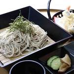 湯沢ロイヤルホテル - 【夏季限定和食おすすめ】湯沢二八蕎麦セット 1,200円(税抜)