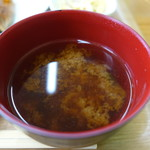 カフェ ベル - みそ汁