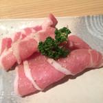 67835290 - 三河ポーク480円、ヤッパリ黒豚の方が                       美味しいですね。