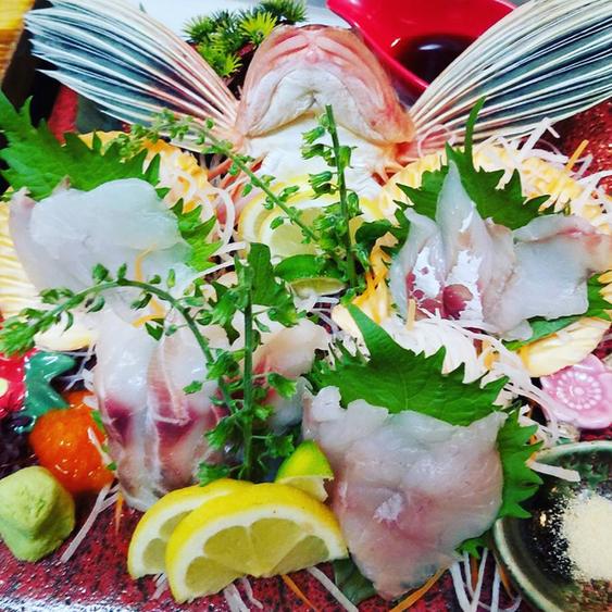 和っちゃんや - 当店名物!リーズナブルで日替わり珍魚刺し盛り。オニカサゴ、コチ、ホウボウ、アイナメ、カワハギ、黒ムツ、ヤガラ、ハタなど希少なお魚がリーズナブルに♪