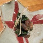 栄寿司 - 鰯のぬた