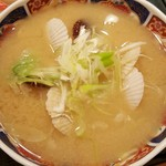 四季 花まる - ホタテの稚貝汁