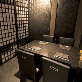多彩なシーンに使える個室席完備