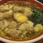 広州市場 - ランチ雲呑麺(アップ)