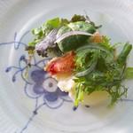 アロマフレスカ - 焼きタラバ蟹のサラダ
