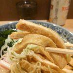 石臼挽き蕎麦とよじ - お揚げ・アップ