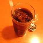 カフェ・サラマンジェ - サラマンジェランチ(アイスコーヒー