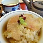日本料理 華の縁 - 出汁をかけました。