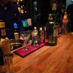 Dining Bar HANABI - カウンター席にて