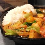 野菜を食べるカレーcamp - 1日分の野菜カレー990円