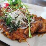 湘彩ダイニング - 湘南豚と季節野菜の黒酢酢豚プレート