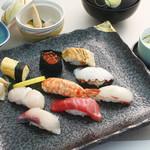 和楽 - お昼のおすすめ:ゆらぎ(寿司膳)