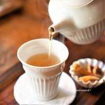 アオイクカフェ - ドリンク写真:黒豆茶
