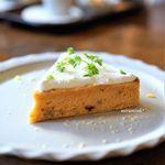 アオイクカフェ - レモン香るキャロットケーキ