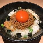麺や マルショウ - 台湾TKG