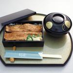 和楽 - お昼のおすすめ:穴子重