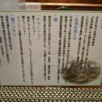 Ramenyamaguchi - 新作鶏そばの説明書き
