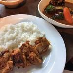らっきょ大サーカス - らっきょ大サーカス(タンドリーチキンと野菜スープカレー)