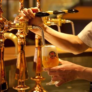 ビール本来の澄んだ味わいを引きだす『ご馳走ビール』。
