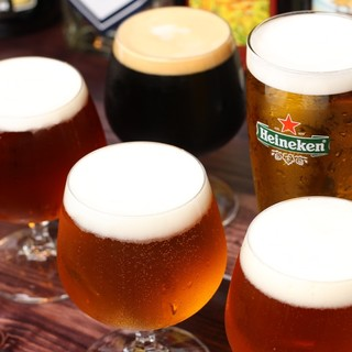 クラフトビールがリーズナブルに飲めるお店