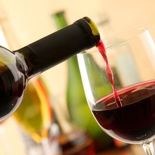 こだわりの食材とワイン。