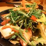 びすとろ家 - 豆腐のサラダ