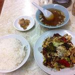 均元飯店 - 回鍋肉定食(850円)