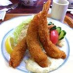くいしん坊 - 海老フライ定食1450円