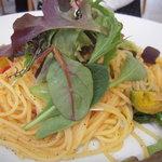ラ・テラス・ダニエル - 春野菜とサワラのパスタ