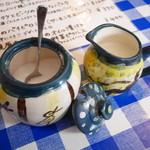 カフェ・ボーチカ - ミルクとシュガー