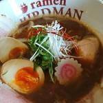 ラーメン バードマン - 濃厚鶏soba醤油スペシャル♪