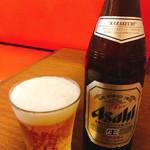 蔵deらーめん - 瓶ビール
