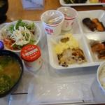 津山鶴山ホテル - 朝食の一例