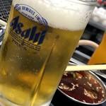空 - 生ビール(中)