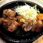 ペッパーランチ - もも赤肉の熟成ステーキ(250g)!