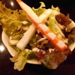 TOKYO美食伝説 PapiPopi - Aセットのサラダ(ランチ)