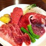 肉のすずき - 特選盛り