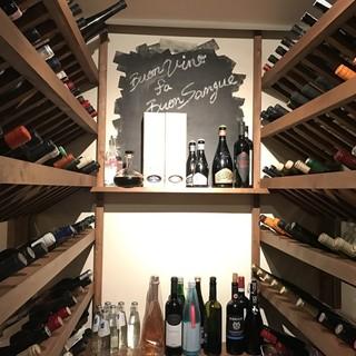ワイン好き必見!400種類以上保有する拘りのワイン♪