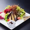 豆富と揚げナスの和風サラダ
