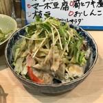 てまり家庭料理 - 豚しゃぶサラダ