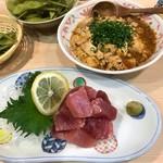 てまり家庭料理 - マーボー豆腐&まぐろブツ再び
