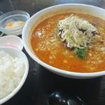 中華食堂 秋 - 麻辣担々麺 麺セット