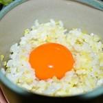 らくだ山 地鶏の店 - 卵かけ御飯