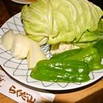 らくだ山 地鶏の店 - 焼き野菜