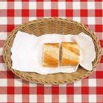 ビストロ ラグラティチュード - ランチセット 1200円 のパン